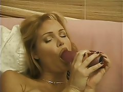 Masturbation, Big Boobs, Blonde, Lingerie