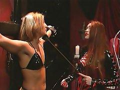 BDSM, Blonde, Latex, Redhead