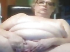 Granny, Masturbation, Mature