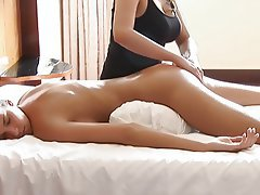 Babe, Lesbian, Massage