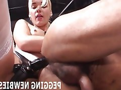 BDSM, Bisexual, Femdom, Strapon, First Time