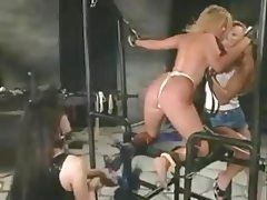 Lesbian, BDSM, Strapon, Fucking