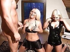 Blonde, German, Threesome