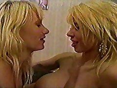 Lesbian, Blonde, Strapon, Big Boobs