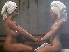 Big Boobs, Lesbian, Shower, Softcore