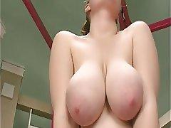 Big Boobs, Close Up, Hairy, Masturbation