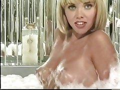 Masturbation, Blonde, Mature, Pantyhose