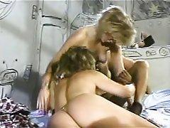 Lesbian, Pornstar, Threesome, Vintage