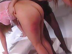 BDSM, Lesbian, Blonde, Redhead, Pantyhose