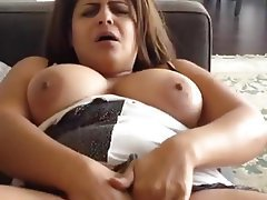 BBW, Big Boobs, Masturbation, Orgasm